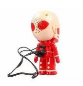İskelet Adam Fm Radyolu Şarj Edilebilir Usb/Micro SD Hoparlör-2