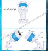 Babycamera Dış Mekan Full Hd Wifi Ip Bebek Kamerası Çift Anten-3