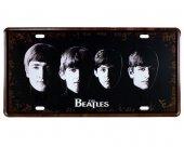 Vintage Metal Plaka The Beatles 15x30