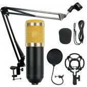 Bm800 Stüdyo Kayıt Youtuber Mikrofonu Seti + Stand...