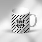 Kişiye Özel Gurur Lan Siyah Beyaz Kupa Bardak 1