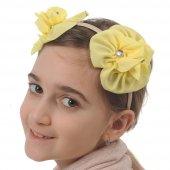 Babygiz Çiçek Aksesuarlı Taç Nba267