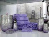 Drop 5 Prç Banyo Seti Lila