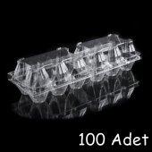 Plastik 6'li Yumurta Viyolü (100 Adet) AnkaraViyol-ViyolPazarı