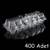 Plastik 6 li Yumurta Viyolü (400 Adet)  AnkaraViyol-ViyolPazari