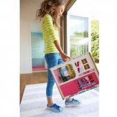 Barbie Portatif Evi DVV47 Barbienin Evi 100 Lisanslı Orjinal Ürü-5