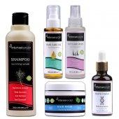 Keratin Onarıcı Full Set - Yanan, Yıpranan, Dökülen Saçlarını Dipten Uca Onarma Seti (650 ml)