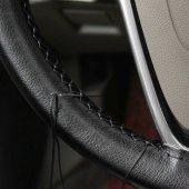 renault Clio  Deri Oto Direksiyon Kılıfı Sarmalı Dikmeli Dikişli -4