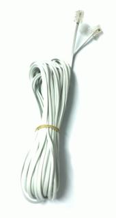 Electroon 15 Metre Fişli Telefon Kablosu