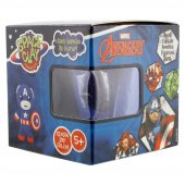Space Clay Heykelciğini Yarat Avengers Kaptan...