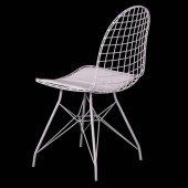Evform Oval Tel Sandalye Mutfak Bahçe Ofis Sandalyesi-2