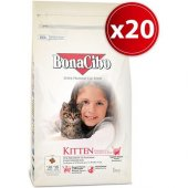 Bonacibo Kitten Tavuklu Yavru Kedi Maması 1.5kg X 10 Adet