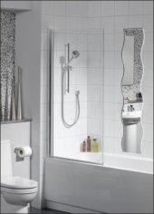 M3 150cm Dalgalı Boy Banyo Salon Koridor Antre Duvar Aynası Ayna