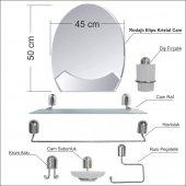 40x50cm Metal Krom Banyo Tuvalet Lavabo Boy Duvar ...