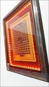 Ledli Işıklı Çerçeveli Esma-ül Hüsna Allah ın 99 Adı Pano Tablo-4