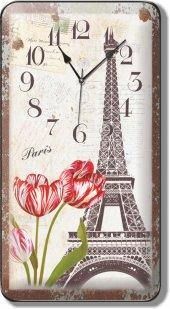 Paris Eyfel Kulesi Duvar Saati