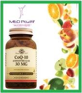 Solgar Coq 10 (Coenzyme Q 10) 30 Mg 60 Bitkisel Kapsül