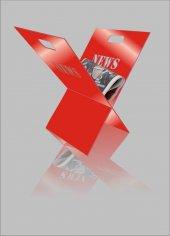 M3 Decorium Kırmızı Rahle News Yazılı Gazetelik...