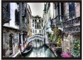 70x100cm Venedik Binalar Ve Köprü Poster Tablo