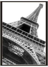 70x100cm Siyah Beyaz Eyfel Kulesi Poster