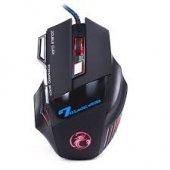 7 X Gaming Set Led Işıklı Oyuncu Mouse + Mouse Pad Set