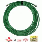 Temka 50 Metre Yeşil Rg6 U4 Anten Kablosu...