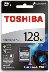 Toshiba Exceria Pro 128Gb Sdxc Uhs-I C10 U3 95 /85 Mb/Sn Thn-N401S1280E4