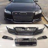 Audi A8 S8 Body Kit Tampon Panjur Difüzör 2014...