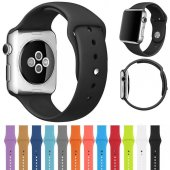 Apple Watch 2 3 4 5 Seri 38mm Ve 40mm Silikon...