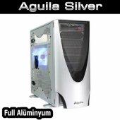 Thermaltake Aguila Gümüş Midtow. Pencereli Aluminy...