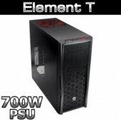 Thermaltake Element T Siyah Midtower 700w Psulu Ka...