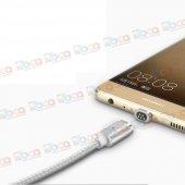 Asus Zenfone 4 Max Uyumlu Manyetik Mıknatıslı Şarj Kablosu-4