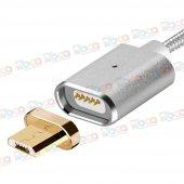 Asus Zenfone 4 Max Uyumlu Manyetik Mıknatıslı Şarj Kablosu-6