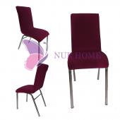 Lastikli Sandalye Kılıfı Fuşya Mutfak Tipi M2 (Renk 13)