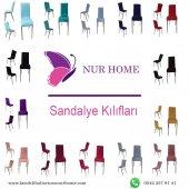 Lastikli Sandalye Kılıfı Pudra Mutfak Tipi M2 (Renk-26)-2