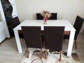 Nur Home Koyu Kahve Sandalye Kılıfı (Renk-2)-2