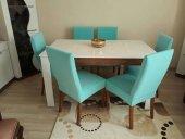 Nur Home Turkuaz Sandalye Kılıfı Örtüsü (Renk 25)