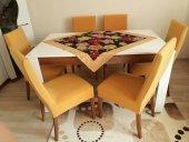 Nur Home Hardal Sarısı Sandalye Kılıfı Örtüsü (Renk 18)