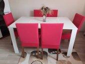 Nur Home Şeker Pembesi Renk Sandalye Kılıfı (Renk-14)-2