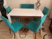 Nur Home Su Yeşili Renk Sandalye Kılıfı (Renk 23)
