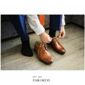 Faik OKTAY Erkek Özel Günlük Çorap 6'lı Paket-3