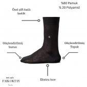 Faik OKTAY Erkek Özel Günlük Çorap 6'lı Paket-4