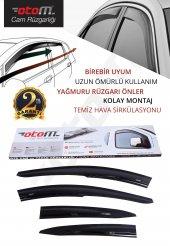 Otom Honda Civic Sedan 2001-2007 Mugen /4 PCS Cam Rüzgarlığı-3