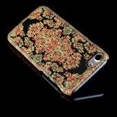 Wachikopa Apple iPhone 7 / 8 Kapak Bodrum El Yapımı Kilim Desenli-2