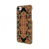 Wachikopa Apple iPhone 7 / 8 Kapak Bodrum El Yapımı Kilim Desenli-3