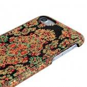 Wachikopa Apple iPhone 7 / 8 Kapak Bodrum El Yapımı Kilim Desenli-4