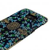 Wachikopa Samsung Galaxy S7 Kapak Breze El Yapımı Kilim Desenli K-4
