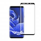 Bufalo Samsung S9 Plus Kavisli Cam Ekran Koruyucu Full Glue Siyah