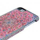 Wachikopa Apple iPhone 7 / 8 Kapak Nisa El Yapımı Kilim Desenli K-4