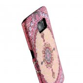 Wachikopa Samsung Galaxy S7 Kapak Amasra El Yapımı Kilim Desenli -5